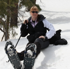 Snowshoeing in Bryce Canyon, copyright Chante McCoy